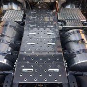 Kit Plataforma Inox Para Chassi Scania S4 / S5 Completo