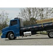 Kit Tanque Alumínio 390 Litros Com Suportes Para Caminhão Truck
