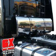 Kit Tanque Combustível Oval Inox Plataforma 350 Litros PROMOÇÃO 6X SEM JUROS NO CARTÃO