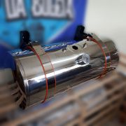 Kit Tanque de inox 155 litros completo para Caminhão