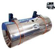 Kit Tanque de inox 155 litros completo para Caminhão VW Novo Delivery Boia de rosca