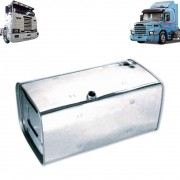 Kit Tanques de Combustível em Inox 294 litros + 397 litros para Caminhão Scania T/R 113 / 143