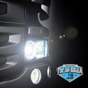 Par Lâmpada H7 led headlight 60W bivolt com cooler H760W