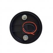 Lanterna Lateral Carreta 85mm Led Bivolt 12v 24v Cristal Unidade