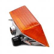 Lanterna Lateral Dianteira Pisca para Caminhão Volvo FH Chinês 2005 á 2010 Lado Esquerdo