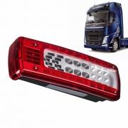 Lanterna Traseira LED para Caminhão Volvo FH Após 2015 Lado Esquerdo