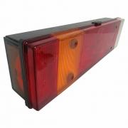 Lanterna Traseira para Caminhão Iveco Stralis Hi Way Hi Road Lado Esquerdo