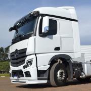 Lateral Cegonheiro com Teto para Caminhão Mercedes-Benz Actros após 2020
