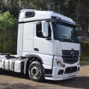 Lateral Cegonheiro com Teto para Caminhão Mercedes-Benz Actros após 2020 com Apliques