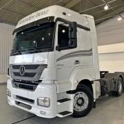 Lateral Cegonheiro Com Teto para Caminhão Mercedes-Benz Axor Cabine Alta