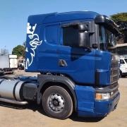 Lateral Cegonheiro SemTeto para Caminhão Scania S4 / S5  G / R Com Recorte para Filtro