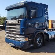 Lateral Cegonheiro SemTeto para Caminhão Scania S4 / S5  G / R Sem Recorte para Filtro