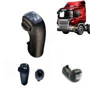 Manopla câmbio Compatível com o Caminhão Scania 124 após 2006 6 marchas 1727377