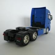 Miniatura Caminhão Man Tgx Trucado 6x2 Escala 1:32 Azul