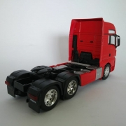 Miniatura Caminhão Man Tgx Trucado 6x2 Escala 1:32 Vermelho