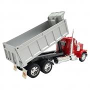 Miniatura Caminhão Peterbilt 379 Vermelho Caçamba 1/32