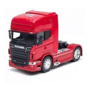 Miniatura Caminhão Scania V8 R730 Toco 4X2 Escala 1-32