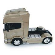 Miniatura Caminhão Scania V8 Toco Champanhe Escala 1:32