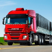 Moldura Defletor Coluna para Caminhão Iveco Stralis 2008 á 2014 Lado Direito