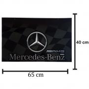 Par Apara Barro Traseiro para Caminhão 65 X 40 Mercedes-Benz