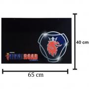 Par Apara Barro Traseiro para Caminhão 65 X 40 Scania