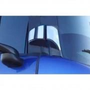 Par Aplique Inox Dobradiças da Porta para Scania Série 5