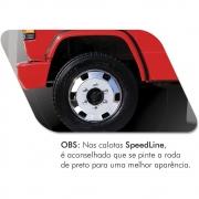 Par Calota Dianteira Americana Speedline 17,5 para Caminhão
