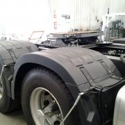 Par Centro Para-lama Truck para Caminhão Volvo Fh New