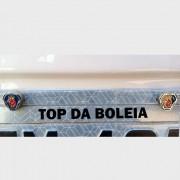 Par de Parafuso Para Fixar Placa Caminhão Logomarca Scania