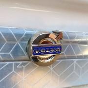 Par de Parafuso Para Fixar Placa Caminhão Logomarca Volvo