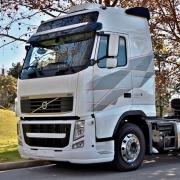Par Emblema Lateral para Caminhão Volvo FH I.Shift