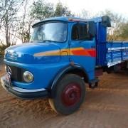 Par Emblema Resinado Lateral Para Caminhão Mb 1116
