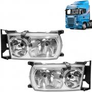 Par Farol Principal para Caminhão Scania Série 5 P / G / R