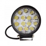 Par Farolete De Led Redondo 14 Leds 42 W  6000+6500K 45MM