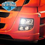 Par Lâmpada H3 led headlight 60W bivolt com cooler H360W