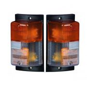 Par Lanterna Dianteira Compatível com Caminhão Scania 112 113 143