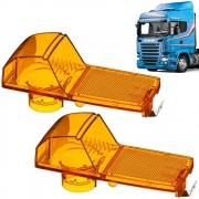 Par Lanterna Lateral Estribo para Caminhão Scania P / G / R Série 5 Após 2012