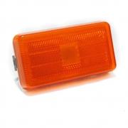 Par Lanterna Lateral Estribo para Caminhão Scania Série 4 114 124 e Série 5 até 2012