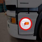 Par Lanterna Lateral Estribo Compatível com o Caminhão Scania P G R S5 Após 2012