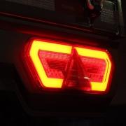 Par Lanterna Traseira Carreta Guerra 2015 Diamond III LED 24V Com Chicotes