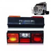 Par Lanterna Traseira Para Caminhão SC 112 / 113 / 143