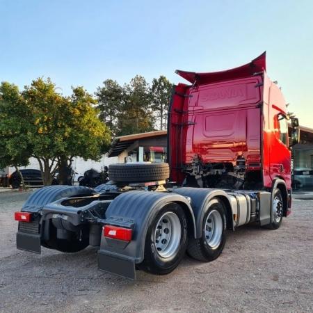 Par Para-Lama Traseiro Cabine para Caminhão Scania S4 / S5 / S6 / S7 NTG Modelo Original