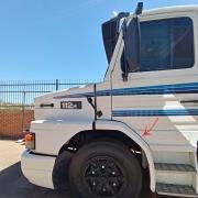 Para-Lama Cabine em Fibra para Caminhão Scania T 112 / 113 / 142 / 143 Longo Lado Esquerdo