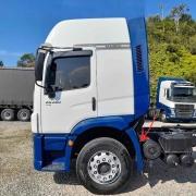 Para-Lama Traseiro Cabine para Caminhão Vw Constellation 2 Estribos Lado Esquerdo