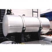 Perfil Borracha Liso Preto para Tanque Combustível Caminhão 76 mm x 4 metros
