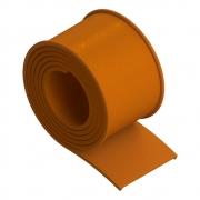 Perfil Cintas de Borracha laranja 76mm para Tanque de Combustível 660 680mm Metro