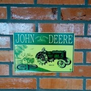 Placa Decorativa John Deere General Purpose 30x20 Cm