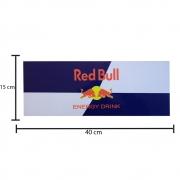 Placa Decorativa PVC Para Caminhão Red Bull
