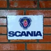 Placa Decorativa Scania Vintage 30x20 Cm