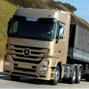Ponteira Escapamento Lateral  Esquerda Cromado para Caminhão Mb Actros até 2011 Chassi Curto